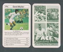 West Germany Gerd Muller Bayern Munich F4